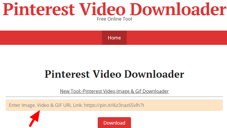 Download Videos from Pinterest on PC