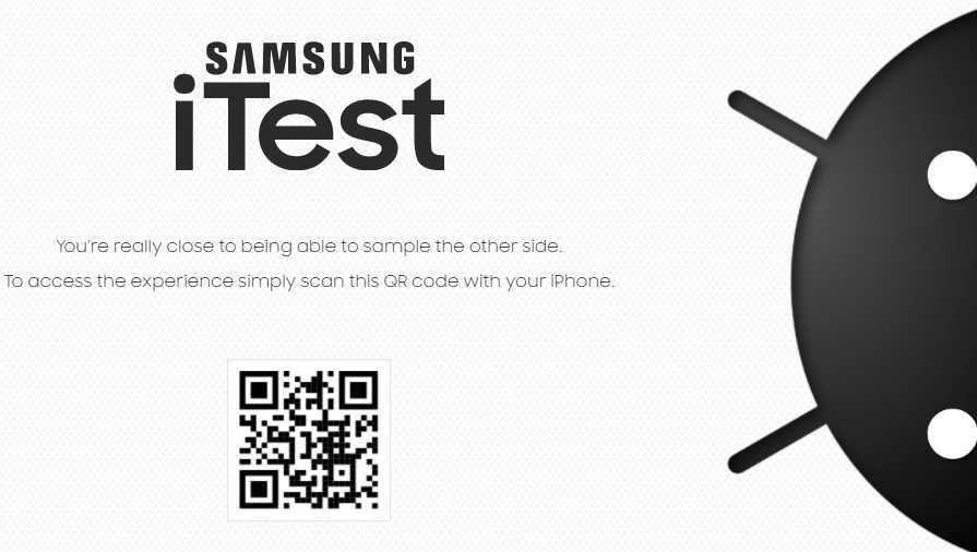 Get iTest app on Your iPhone and experience Samsung's One UI 3.0
