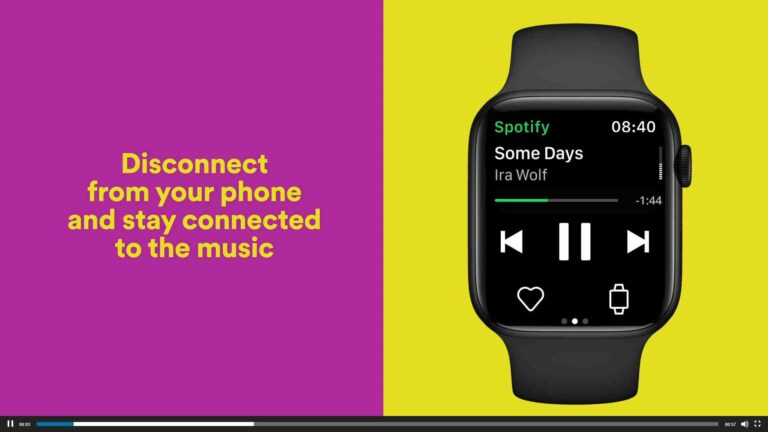 Download Music on Apple Watch from Spotify