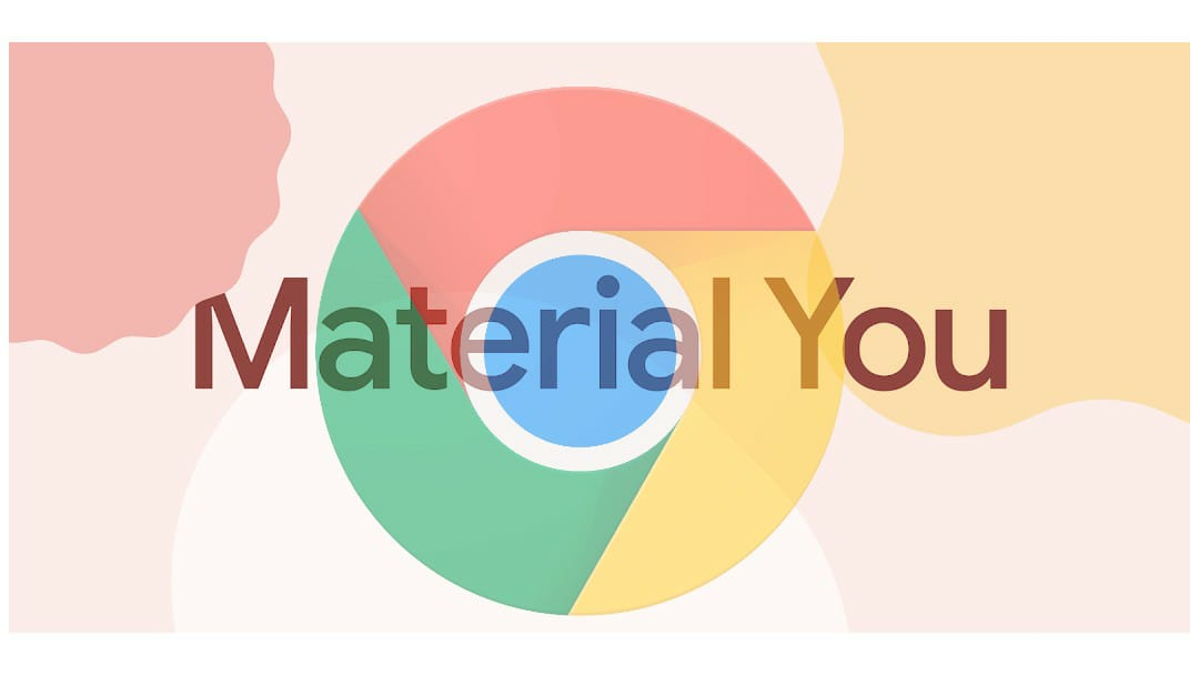 Material you Chrome Android